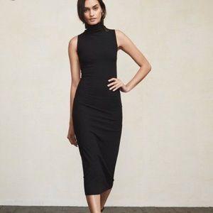 NWT Reformation leandra turtleneck dress Xs